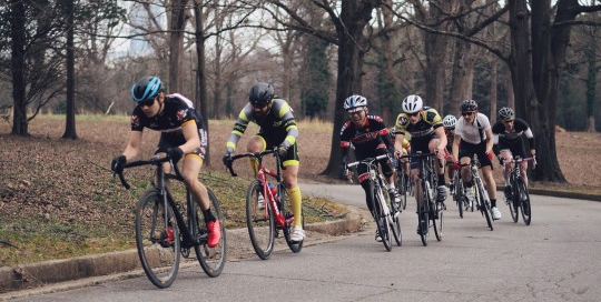Wow! Kendall Circle on Spring Hill is a great place for a race! Right in the middle of the city but it's like a country ride complete with majestic oaks and swaying grasses.""