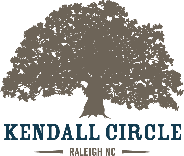 We Love Kendall Circle Sticky Logo
